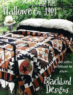 Halloween 1904   Quilt Pattern Arts, Crafts & Sewing