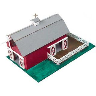 Dollhouse Miniature 1/144 Scale Uncle Eds Barn Kit Toys