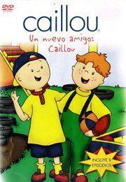 Caillou   Un Nuevo Amigo DVD Spanish Movies & TV