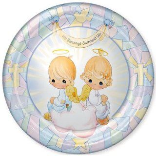 Precious Moments Religious Lunch Plates 8ct Office