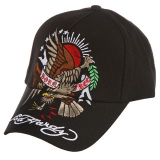 Ed Hardy Boys Eagle and Sun Embroidered Hat