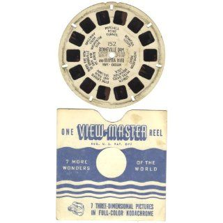 Vintage 1943 1946 Sawyers View Master Reel No. 152 Bonneville Dame and