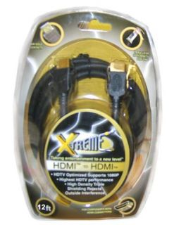 Xtreme 12 Super High Performance 12 foot HDMI Cable