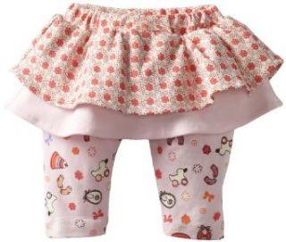MINI BAMBA APPAREL Baby Girls Newborn Layered Skirt With