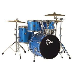 Gretsch Blackhawk 5 Piece Drum Set With Hdwr In Blue