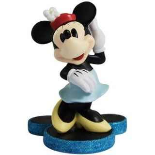 Disney Retro Style Minnie Mouse Mini Figurine in Blue