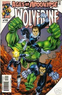 Wolverine 148 March 2000 Ages of Apocalypse Marvel Comics: Marvel