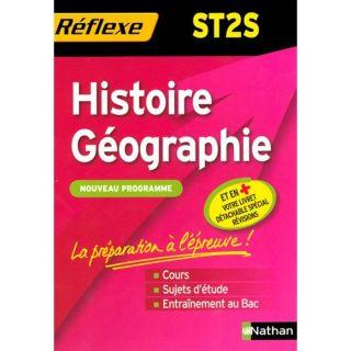 MEMOS REFLEXES T.94; HISTOIRE GEOGRAPHIE ; ST2S   Achat / Vente livre