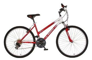 Mantis Raptor Womens 26  Inch Bike, White/Red Sports
