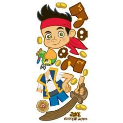 RoomMates Jake and the Neverland Pirates Peel and Stick Giant Wall