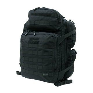 RAPDOM 96 Backpack, 4 Day Tactical Pack (Black, 17W x 22