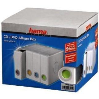 CD/DVD/BLU RAY Hama   Albums CD/DVD   x 96   Transparent/blanc