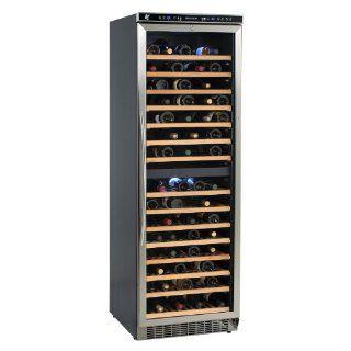 155 Bottle Dual Zone Wine Refrigerator Appliances