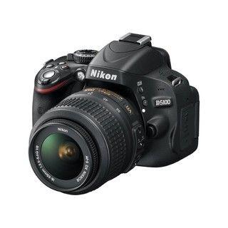 Nikon D5100 16.2MP CMOS Digital SLR Camera with 18 55mm Lens
