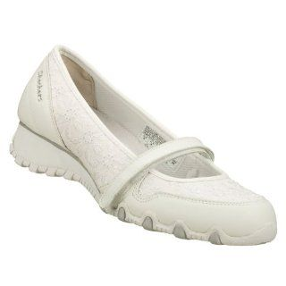 com Skechers Sassies Rosebloom Womens Mary Jane Shoes White 10 Shoes