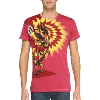 DIESEL T Shirt Onion Homme Rouge et jaune Rouge et jaune   Achat