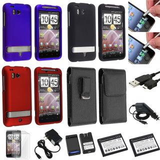 Cases/ Chargers/ Cable/ LCD Protectors/ Battery for HTC Thunderbolt 4G