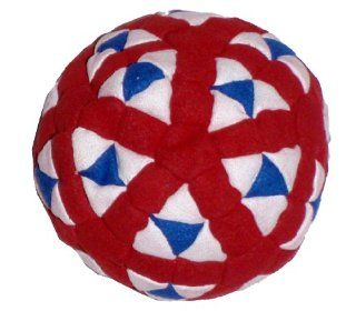 Super Hero Red, White & Blue 152 Panel Hacky Sack
