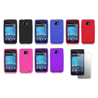 Samsung Galaxy S II SGH i777/i9100 (AT&T) Premium Silicone Case with
