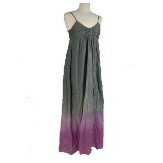 Young Fabulous & Broke Womens Silk Blend Maxi Dress