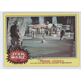 com Rebel victory (Trading Card) 1977 Star Wars #158