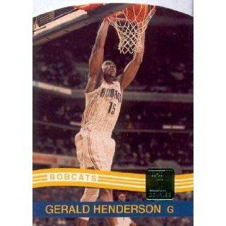 158 Gerald Henderson Charlotte Bobcats NBA Trading Card: Collectibles