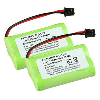Compatible Ni MH Battery for Uniden BT 1007 Cordless Phone (Pack of 2