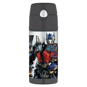 Thermos Transformers™ FUNtainer™ Straw Bottle   12oz