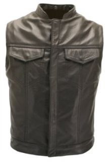 Sons of Anarchy Leather Vest   Made in USA Clothing