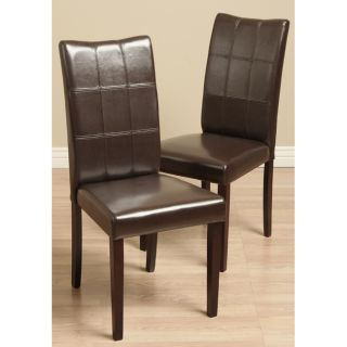 Warehouse of Tiffany Eveleen Brown Dining Chairs (Set of 2) Today $