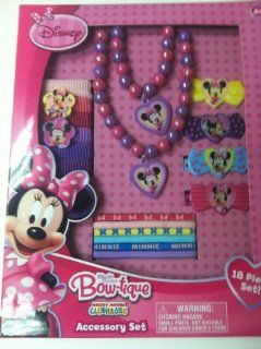 Disney Minnie Mouse Hair & Jewelry Accessory Box Set Toys