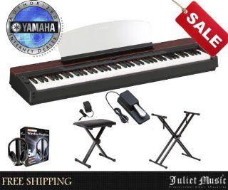 Yamaha P155 P 155 88 Key Digital Piano Delux bundle with