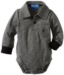Andy & Evan Baby Boys Newborn Sebastian Stripe Bodysuit