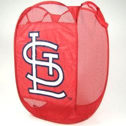 St. Louis Cardinals Portable Pop up Laundry Hamper