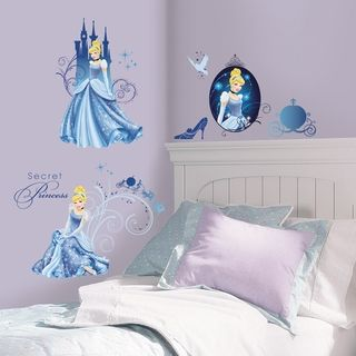 Disney Princess Cinderella Glamour Peel & Stick Wall Decals