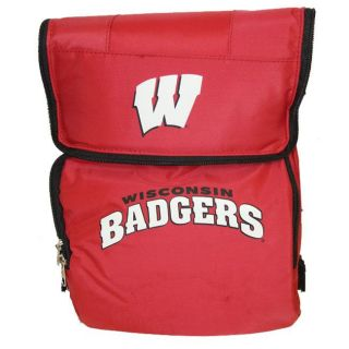 North Pole Wisconsin Badgers 18 can Cooler