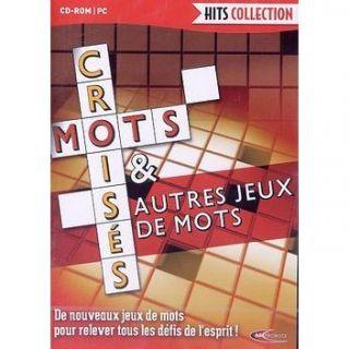 MOTS CROISES & AUTRES JEUX DE MOTS   Achat / Vente PC MOTS CROISES