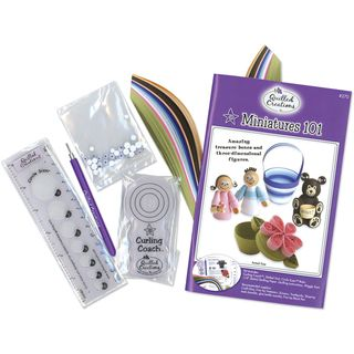 Miniatures 101 Quilling Kit