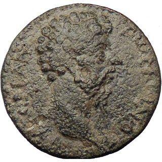 Marcus Aurelius 161AD Authentic Ancient Roman Coin Winged thunderbolt