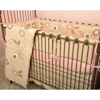 Cotton Tale Blossom 4 piece Crib Bedding Set
