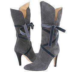 Lumiani Cortina Grey/Grey Velvet Boots