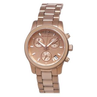 Michael Kors Womens Rose Gold Chronograph Watch Today $249.99 4.0 (1