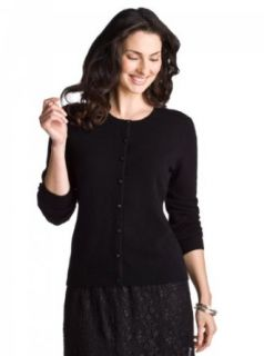 Peck Cashmere Satin Button Cardigan   Compare at $158.00 Clothing