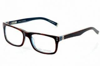 John Varvatos Glasses Brown and Blue V330 Ambernavy