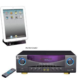Pyle Stereo Receiver and iPod Dock Package   PT570AU 5.1