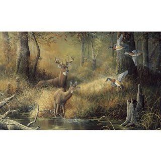(99x164) October Memories Deer Ducks Hunting Huge Wall