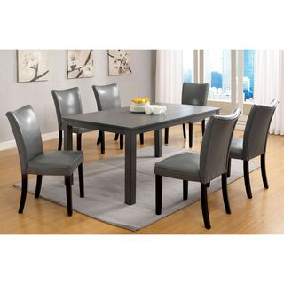Belton Gray 60 inch Contemporary Rectangular Dining Table