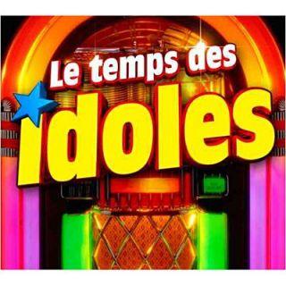 LE TEMPS DES IDOLES   Compilation   Achat CD COMPILATION pas cher