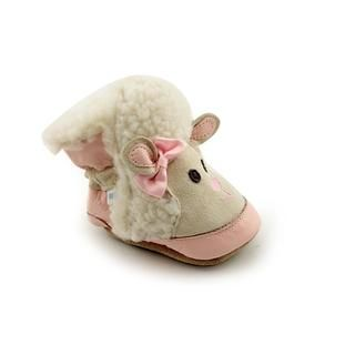 Stride Rite Girls 3D Little Lamb Boot Leather Casual Shoes