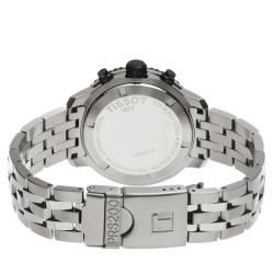 Tissot Mens PRS 200 Black Dial Stainless Steel Quartz Watch